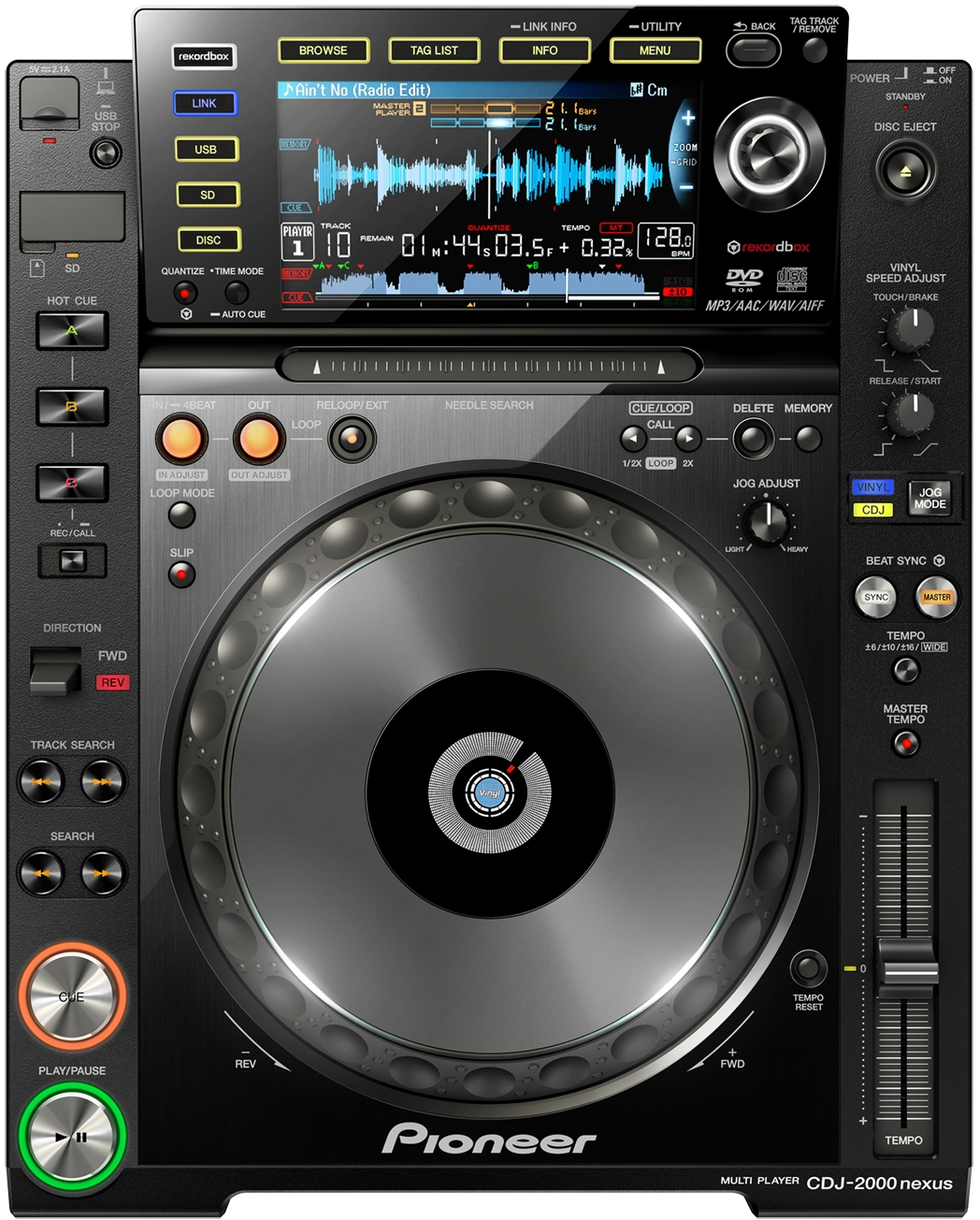 cdj the next generation pioneer reimagines dj cd player in networked mobile age of software. Black Bedroom Furniture Sets. Home Design Ideas