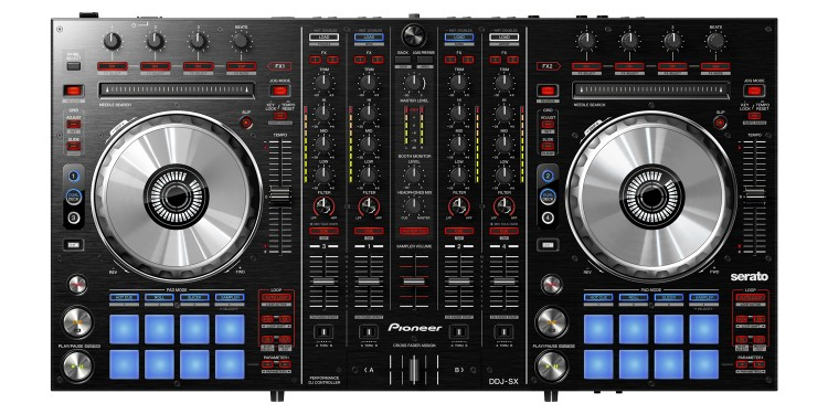 New Pioneer hardware may look like other offerings - but there are some twists on controller mappings, and velocity-sensitive pads. You also get an impressive integrated 4-channel mixer. The bad news: without this gear, you aren't running Serato DJ until at least spring of 2013.