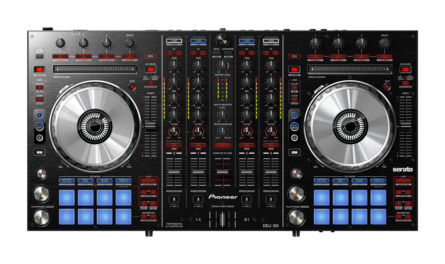 scratch that itch serato dj the future of serato first integrated hardware from pioneer. Black Bedroom Furniture Sets. Home Design Ideas