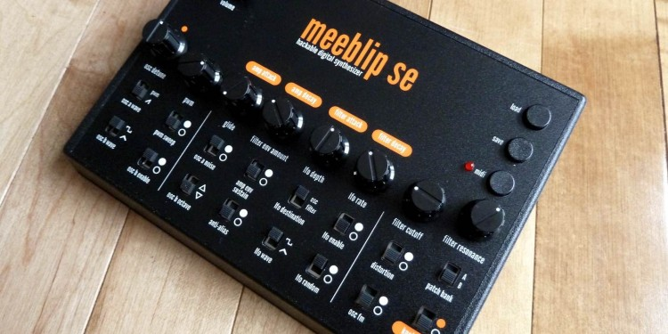 MeeBlip SE's new limited edition features retro color scheme and knobs, plus 30 patch memores - and now ships fully-assembled worldwide.
