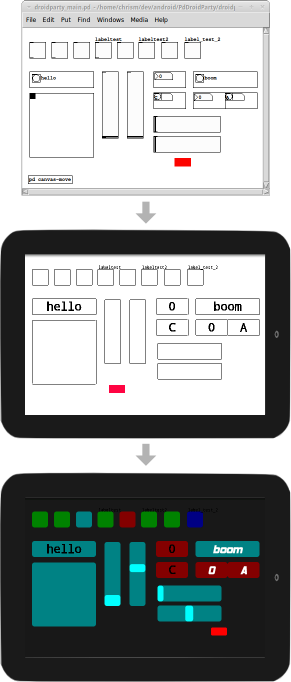 Make a Pd Patch, Run it on Android, iOS, Right Away: Two
