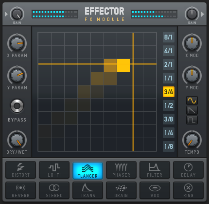 In the latest software cure for KAOSS envy, Effector is a powerful tool for multi-effects with rich controller mapping features. In fact, it looks so nice, it may appeal even if you have no interest in Deckadance. We'll be eyeing a VST release here.