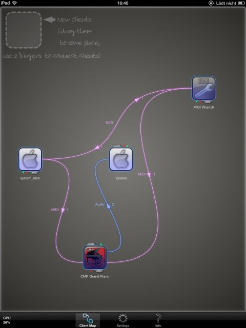 Finally, route audio, MIDI, sync, and data between apps however you like - one solution, free.