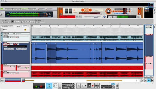 Put MIDI and audio slicing together, and those who love Reason for music making no longer have to make do with other tools.