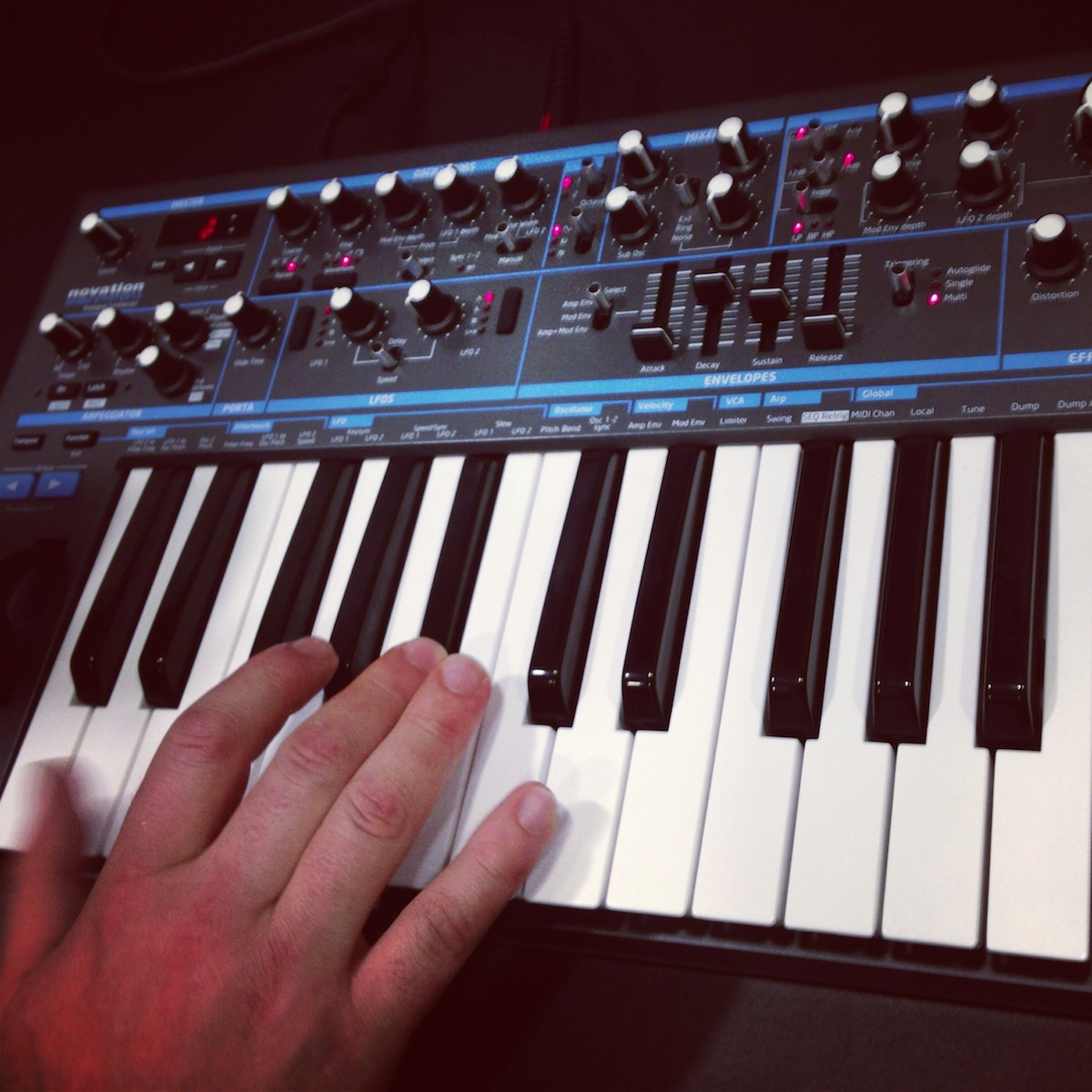 BassStation II, Hands-on: First Direct Sound Samples from