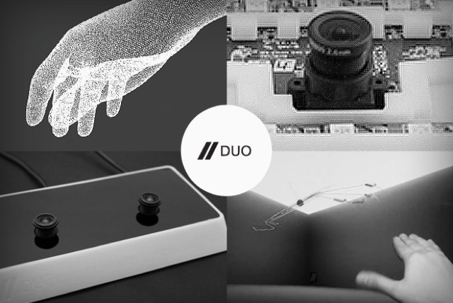 DUO is a DIY 3D Sensor - Like Leap, But Open Source, From Gesture and Vision Veterans