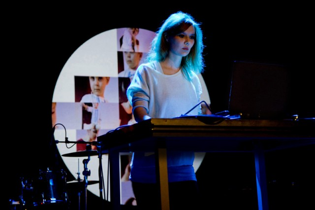 Drawing on Eastern philosophy, her own vocals, and an approach to experimental sound that connects to her experience as a poet, Jelena Glazova's distorted drones have a voice behind them. Photo courtesy the artist.