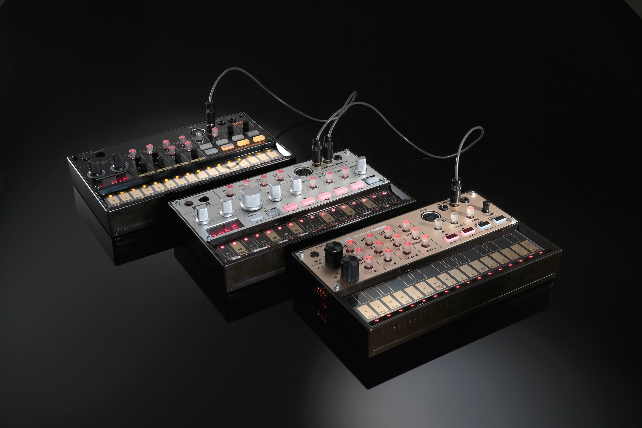 150 korg volca analog synth bass drum grooveboxes with midi official details pics video. Black Bedroom Furniture Sets. Home Design Ideas