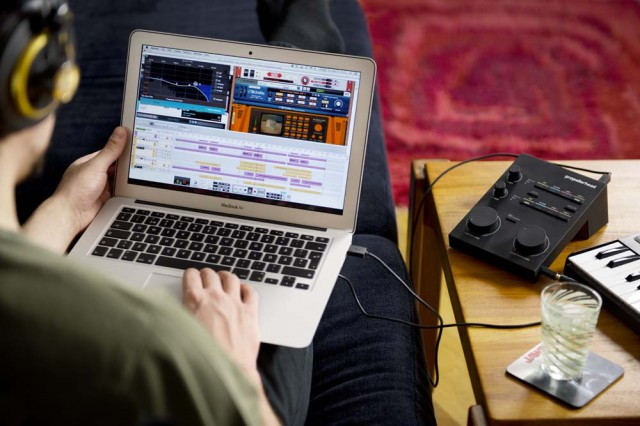 Reason 7 works better with the outside world, thanks to mix groups, much-welcome external MIDI support, and audio slicing, among other improvements. Image courtesy Propellerhead.