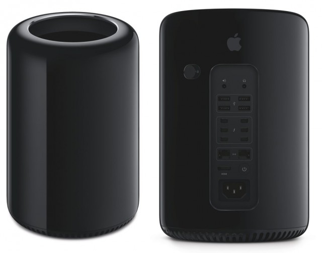 And you thought Apple was just going to turn everything into an iPad. Instead, they make something that looks like a home appliance designed by Master Control Program, covered in ports.