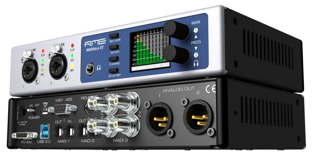 The future face of audio is external gear like this MADIFace XT from RME. And, really, given PCI cards were typically paired with external breakout boxes anyway, isn't that a more convenient solution? One trick you can accomplish with this that you couldn't with the PCI card: unplug it, plug it into your laptop. Done. Photo courtesy RME.