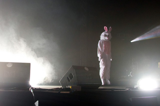 And rabbit suits. The molecular gastronomists of modern dance music, at SONAR earlier this summer.
