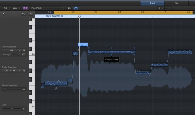For monophonic pitch adjustments, FlexPitch provides a rather lovely interface inside the DAW. (And yes, Cubase users, we know you had this already - but most DAWs still don't.)