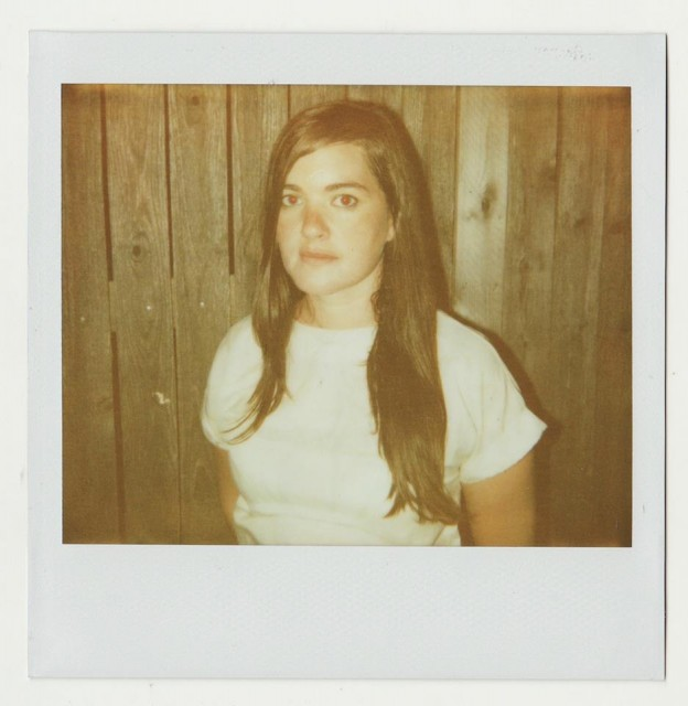 Julianna Barwick, courtesy the artist. Yes, in a Polaroid.