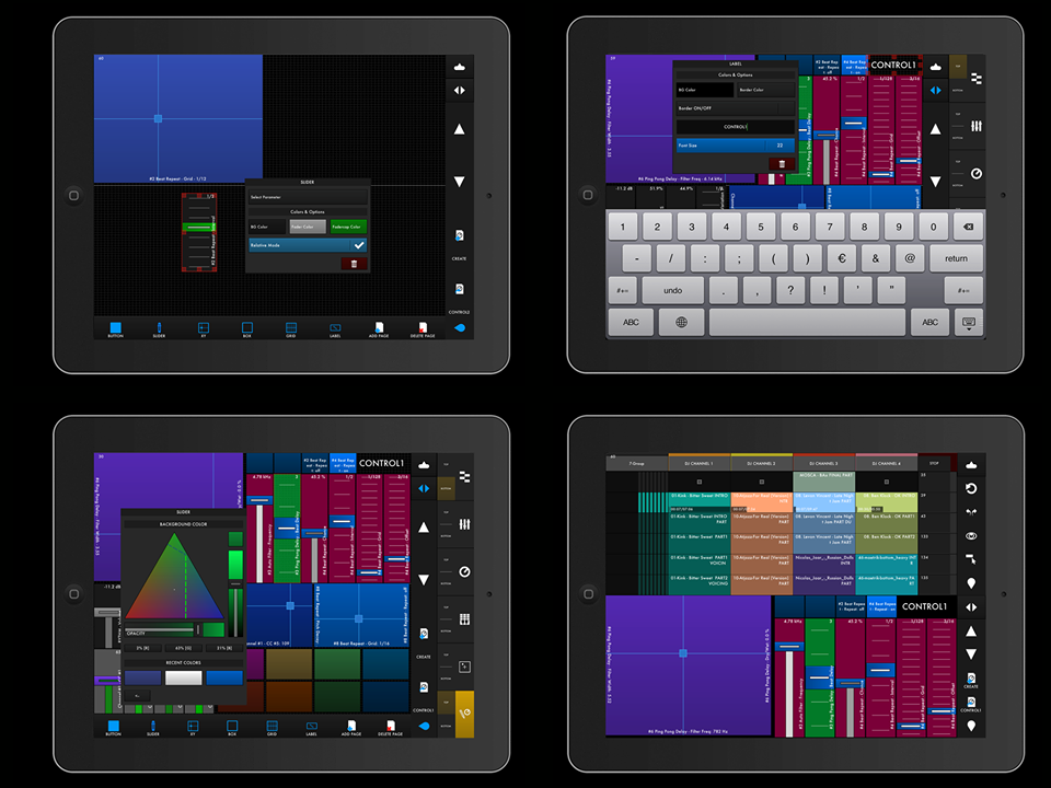 TouchAble 2, iPad Control of Ableton, Nears Release, Kind of