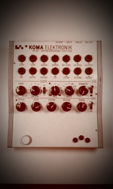 Ah, now you can see why they wanted to get that volca beats modded so fast. The KOMA RH-301 is a versatile-looking bridge between the analog and digital components of your studio - even for those who are just getting started collecting gear. Watch for our full hands-on.
