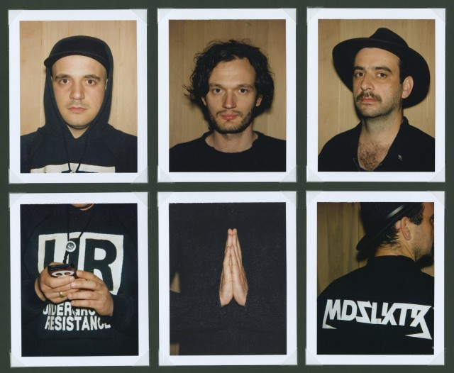 Moderat's super-trio, in Polaroid triptych by John Butt. And while this release is dreamier than the last, the focus is now exclusively on these three - and just as beautifully made.