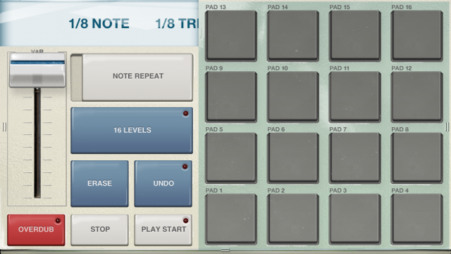 Akai's iMPC, already available for iPad, now comes to a palm-sized iPhone version.