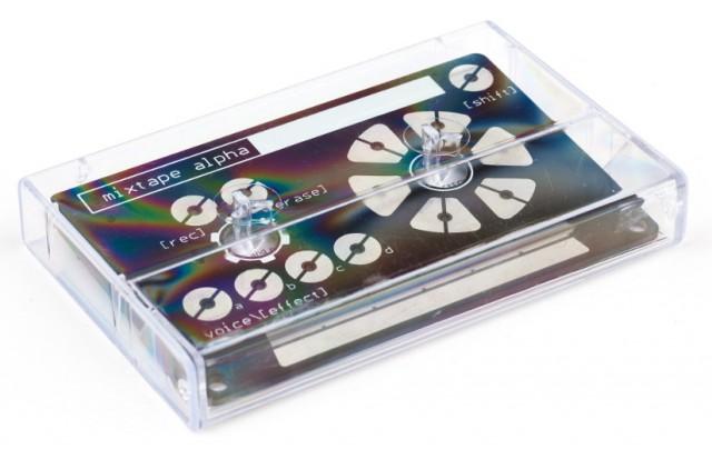 Mixtape Alpha: An 8-bit Stylophone Synth in a Cassette Tape, $42