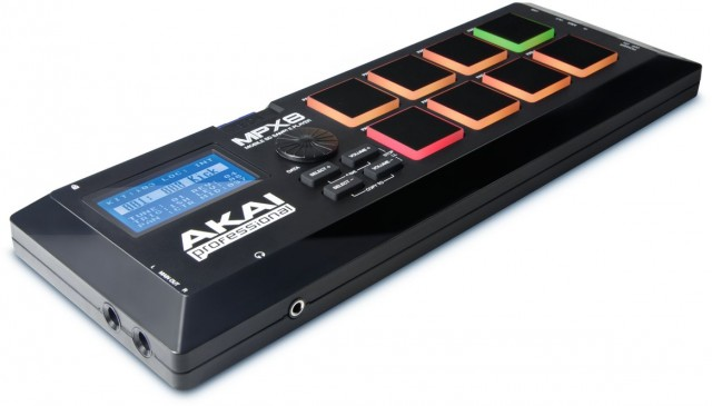 As many samples as an SD card can hold, you can trigger via velocity-sensitive pads on this cute little box. Photos courtesy Akai.