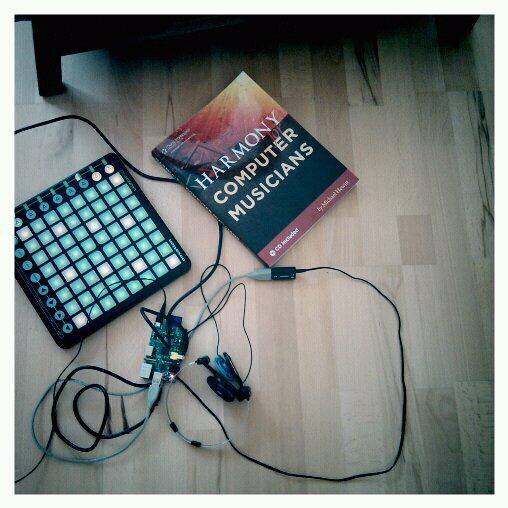 Exploring the outer reaches of music harmony, one grid square at a time. Photo courtesy Marc Resibois.