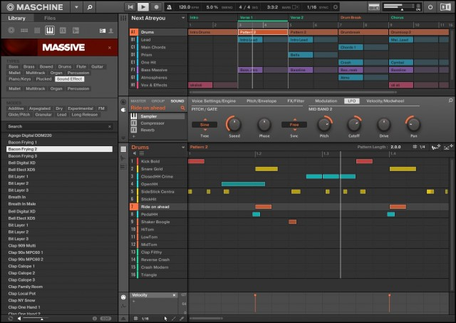 Arrangement and editing, on both hardware and software, is now more logical and accessible.
