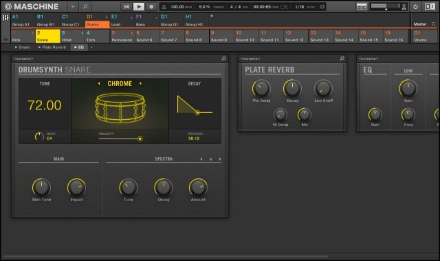 The new drum synths may the most fun part of the update, covering a range of acoustic and electronic sounds via dedicated models. There's also a new plate reverb.