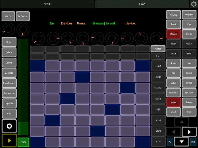 Ableton Goodies: Push without Push – Free Lemur Template Puts Shove on iPad