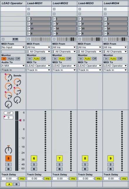 "Track setup for ""Decompress."" All images courtesy the artist."