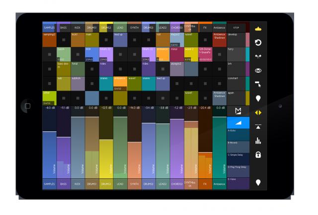 touchAble-2-screenshot-clips&mixer