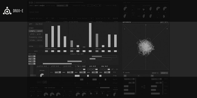 DRON-E Creates Ambiences, Cinematic Sounds - Now Free for Reaktor [Sounds, Tutorial]