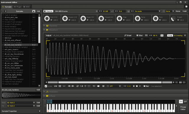 Pull out Instruments into their own window - or even on another (virtual or real) display. You'll want to do that, because Instruments are more part of the workflow than ever, melding the best of synths and samplers.