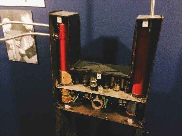 Theremin's original instrument.