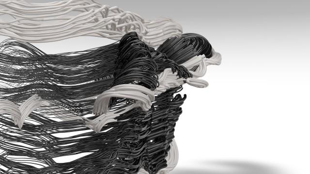 Still from Deborah Hay visualization.