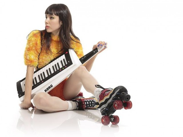 """I got a brand new pair of roller skates / you got a brand new keytar."""
