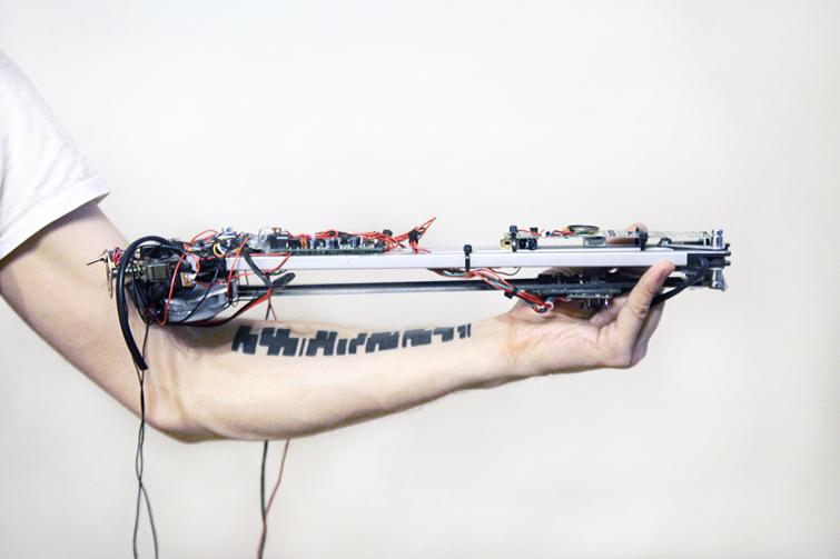 A Robotic Machine Worn On The Arm Turns Tattoos Into Music Cdm