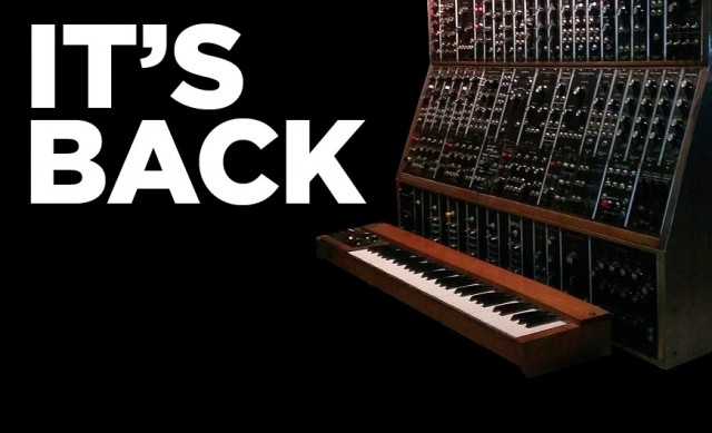 MOOG continues their leadership in the April Fools' department, by bringing you ... Keith Emerson's rig.
