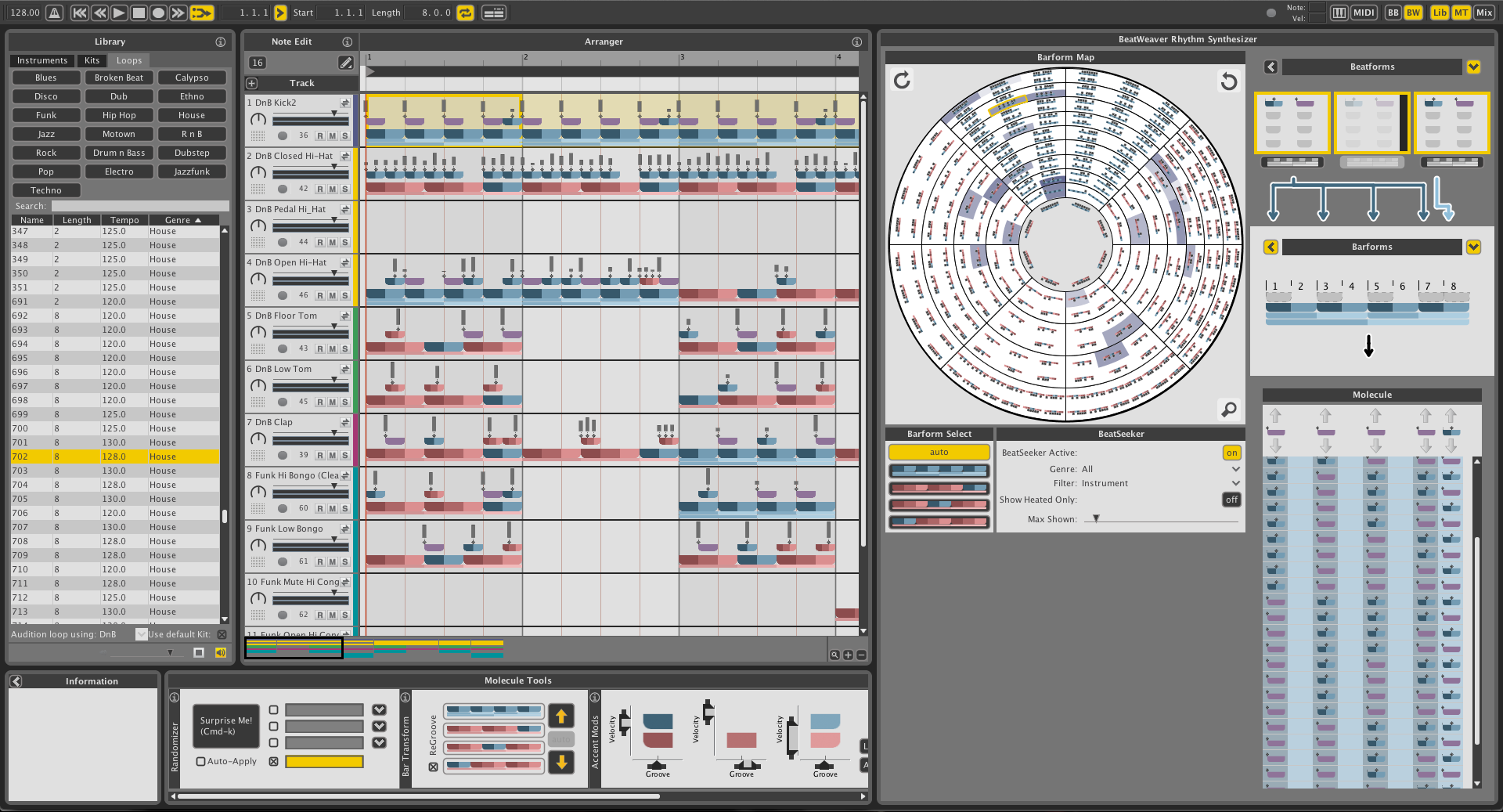 Rhythm Recoded In Plug Ins Ableton Live A Conversation With Strange Led Sequencer Liquid 2
