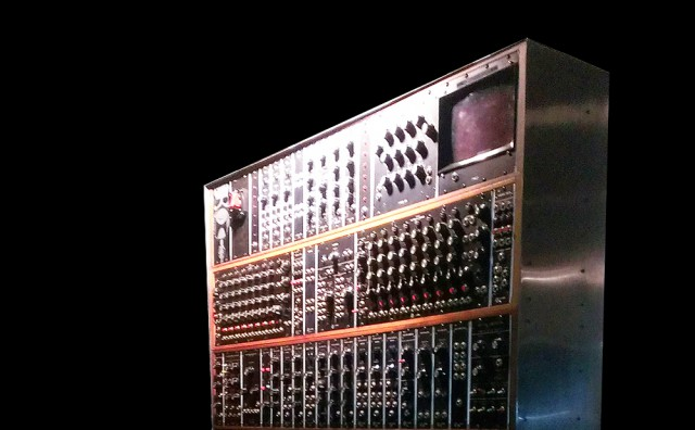 Tower of power. Photo courtesy (fake) MOOG.
