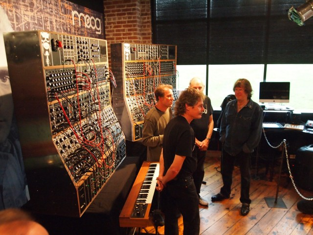 It's real: Moog have recreated the most famous modular of all time. Engineering joins Herb Deutsch, Keith Emerson.