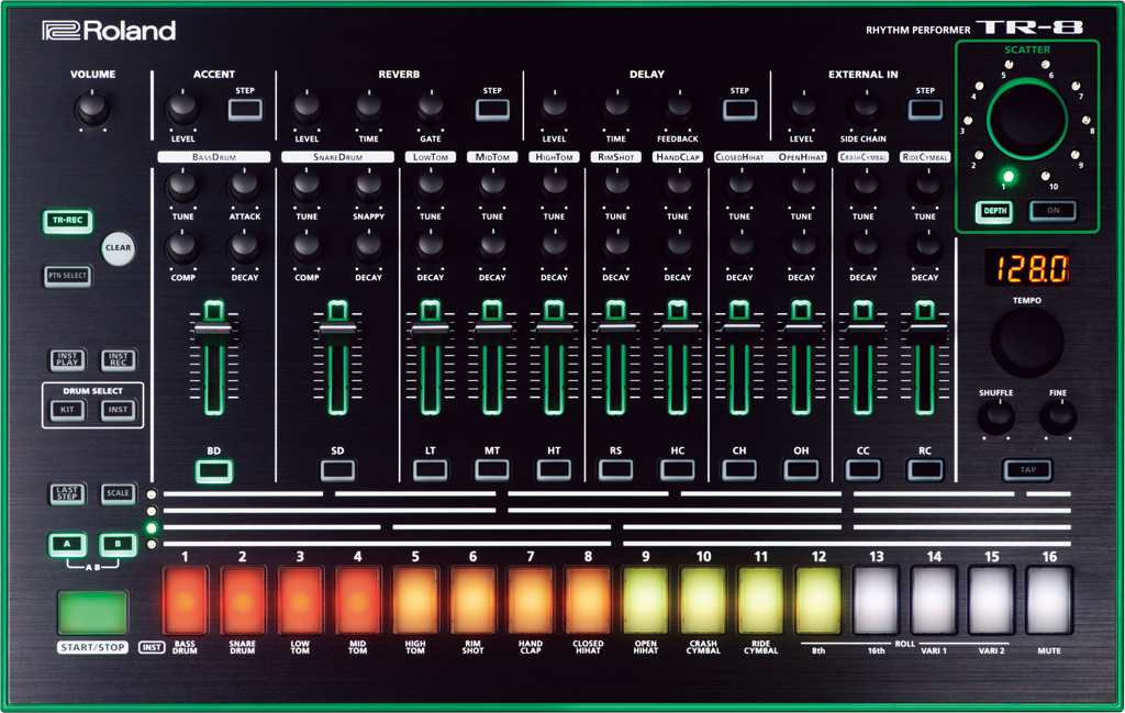 aira secrets here 39 s how to take command of roland 39 s tb 3 and tr 8 with midi cdm. Black Bedroom Furniture Sets. Home Design Ideas