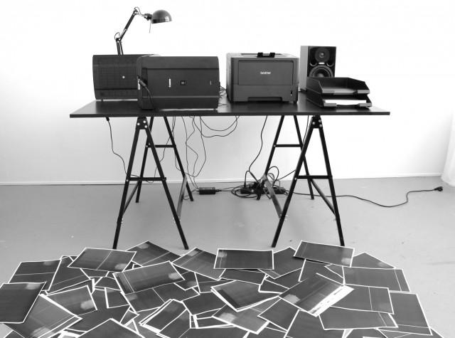 """""""Scanned Image"""" - Marcelina and Gösta Wellmer."""