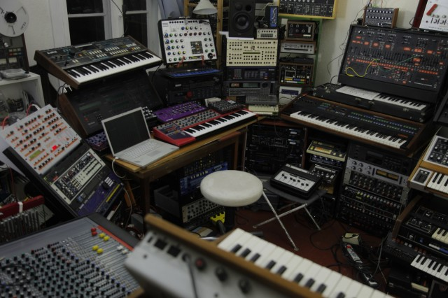 This is where the magic happens. Oh, yeah. Photo courtesy Christian Kleine for CDM.