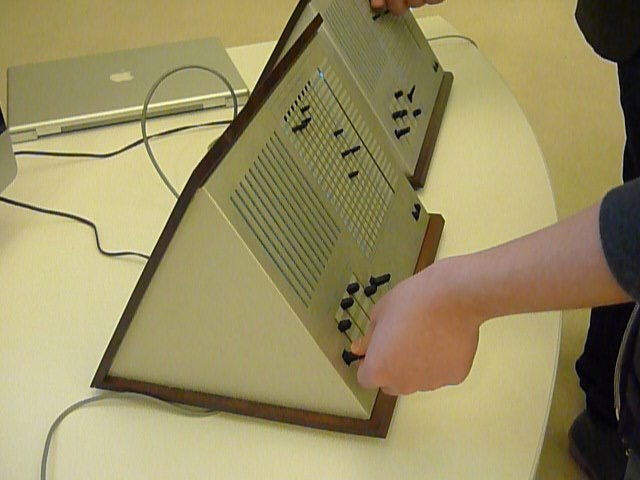 Marvin Minsky's MUSE Synthesizer