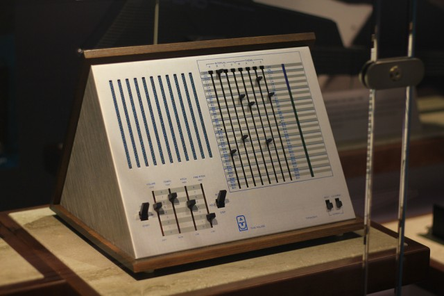 The one sequencer that you can see in a computer museum. The original Triadex Muse. Photo (CC-BY) Michael Hicks.