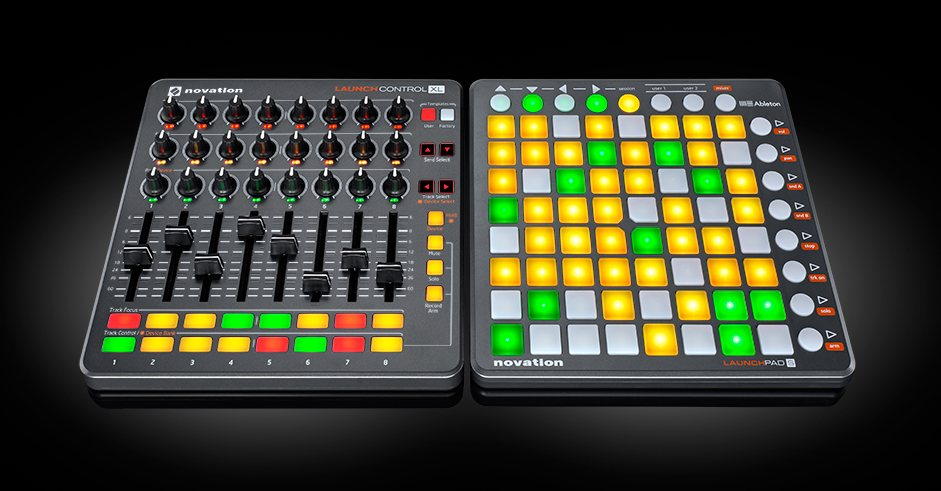 novation 39 s launchcontrol xl has the faders and knobs you need for ableton midi obsessive. Black Bedroom Furniture Sets. Home Design Ideas