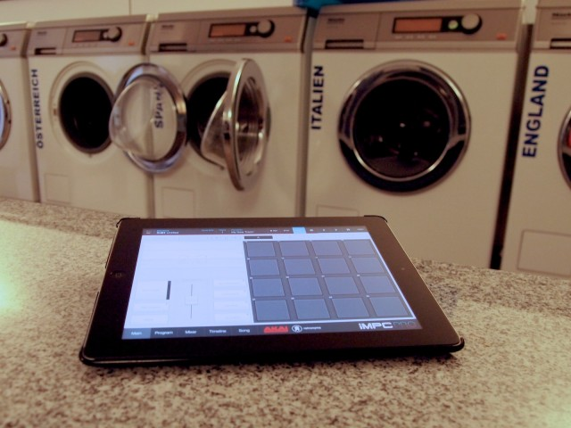 It's an MPC you can take with you to the laundromat.