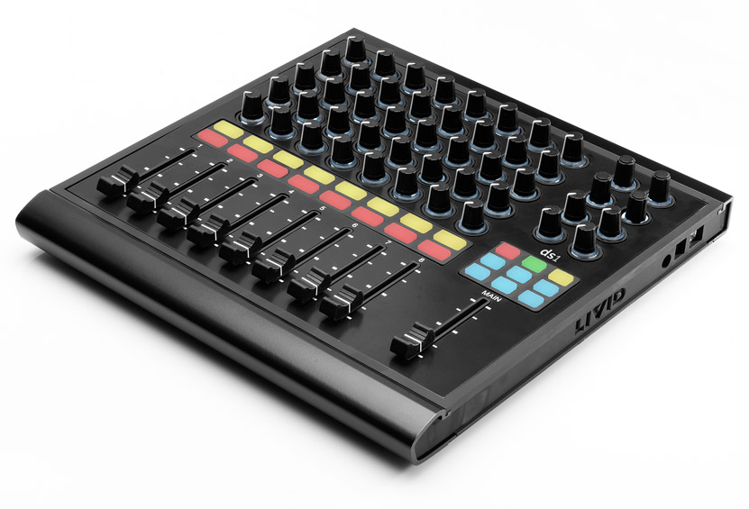 midi controller with loads of faders knobs app support livid ds1 on preorder gallery cdm. Black Bedroom Furniture Sets. Home Design Ideas