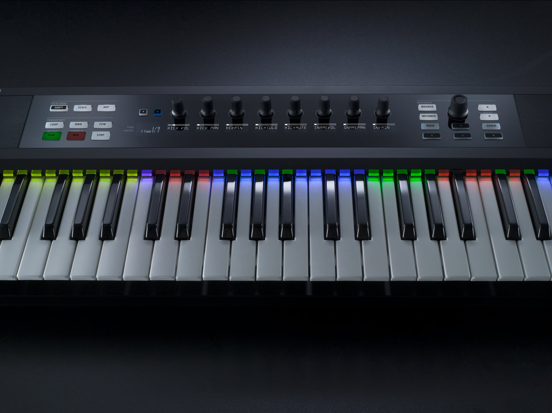 ni officially reveals komplete 10 kontrol keyboards details gallery cdm create digital music. Black Bedroom Furniture Sets. Home Design Ideas
