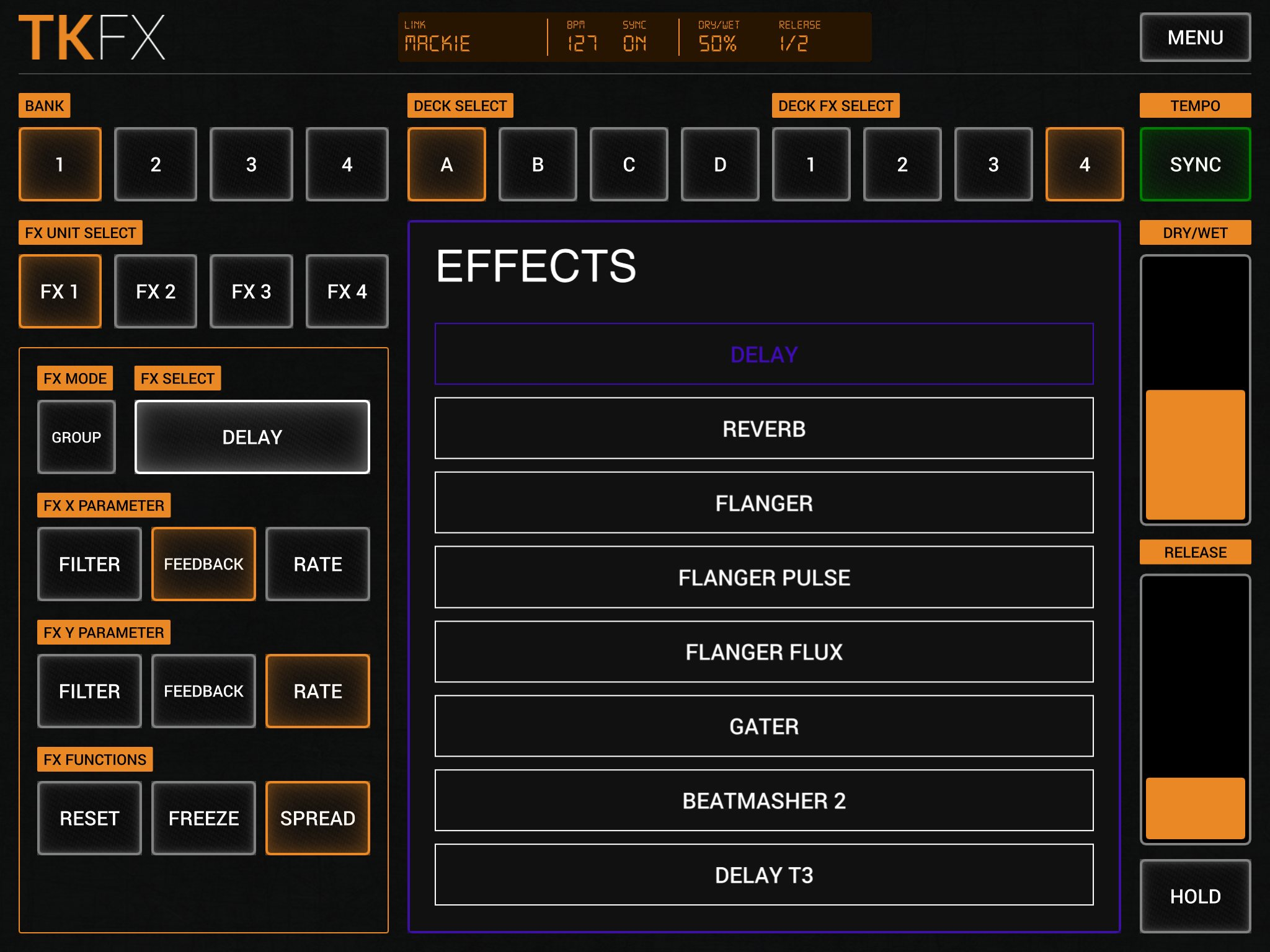TKFX Gives You Crazy-Easy iPad, Android Control of Traktor Effects